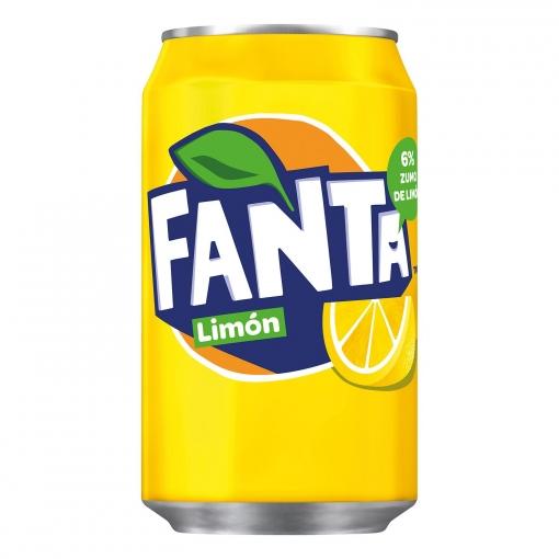 Fanta Limón Bote Pack x24uds