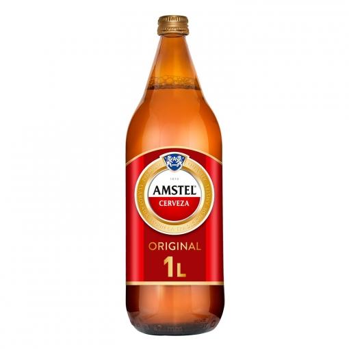 Amstel 1 Litro Pack x24uds