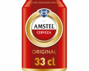 Amstel Latas 33 cl. Pack x24uds