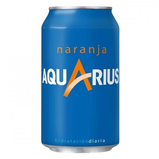 Aquarius Naranja Bote Pack x24uds