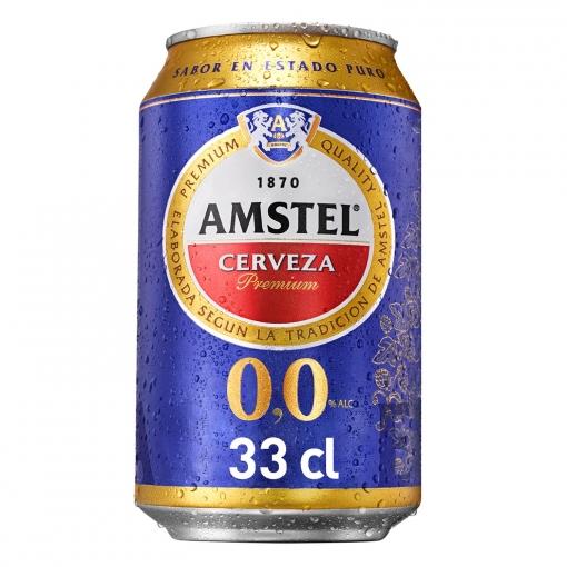 Amstel Sin 0,0 Lata Pack x24uds