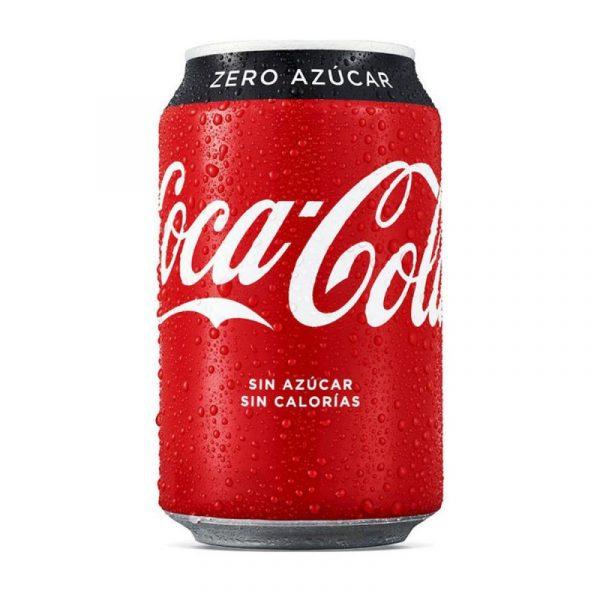 Coca Cola Zero Bote Pack x24uds