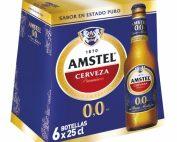 Amstel Sin 0,0 25 cl. Pack x24uds